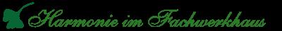 Harmonie im Fachwerkhaus Logo